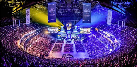 Event tourism eSports Lanxess Arena
