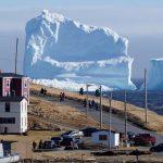 Iceberg tourism in Newfoundland
