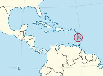 Top 10 Islands World St Lucia map