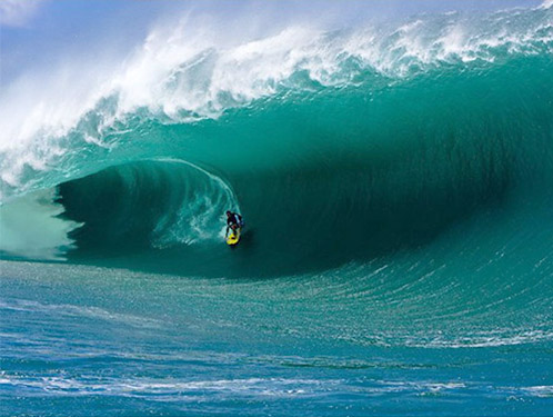 Top 10 Islands World Tahiti surfers