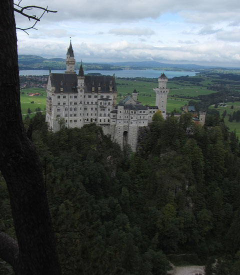 Top 10 Tourist Hot Spots Germany Neuschwanstein Fussen