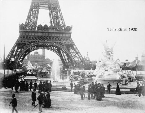 Popular Tourist Attractions tour-eiffel-1920