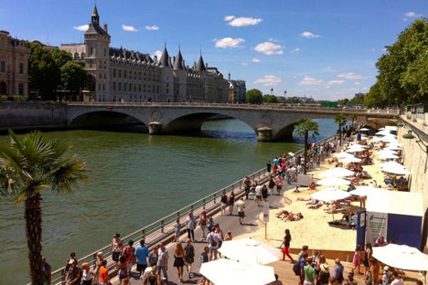 Urban Beaches Paris Plages