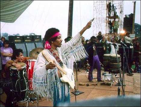 Event tourism Woodstock Jimi Hendrix