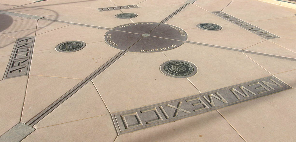 Disappointing travel destination Four Corners Monument