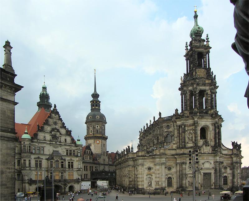 Dresden Old Town Schlossplatz