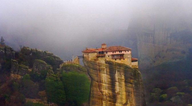 Underrated tourist spots Meteora Greece