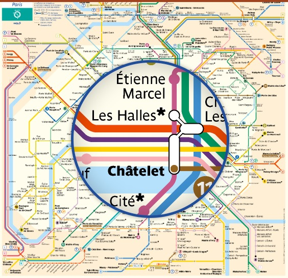 Paris Metro map as PDF