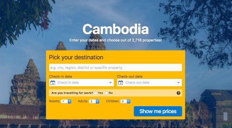 cambodia pick a destination