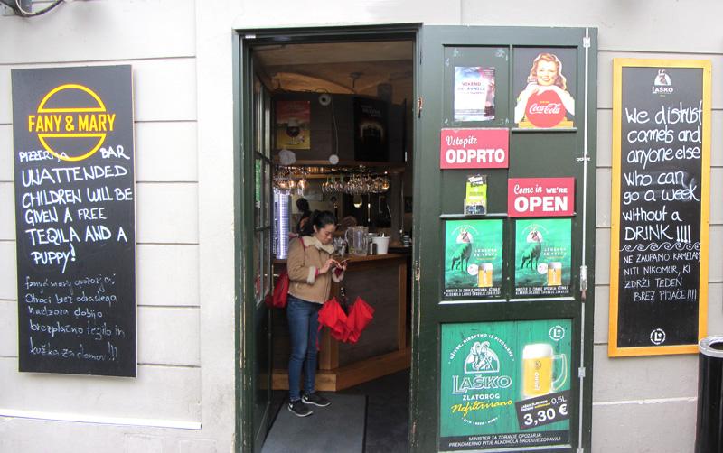 Fany Mary Pub Ljubljana Old Town