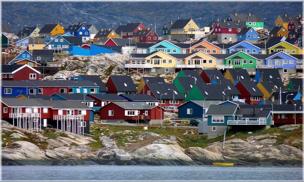 Most Colorful Cities Ilulissat Greenland