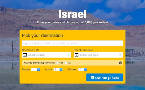 Israel Pick your Destination here