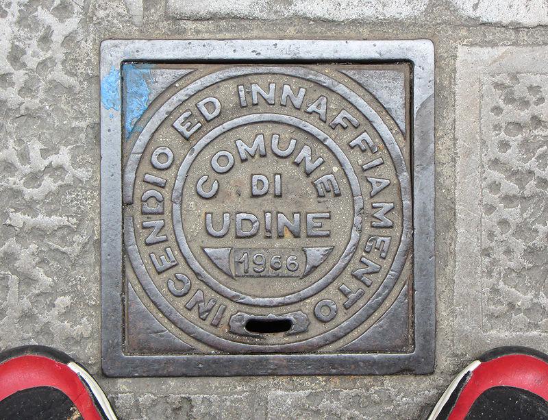 Manhole Udine Italy