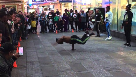 new york street dancers scam