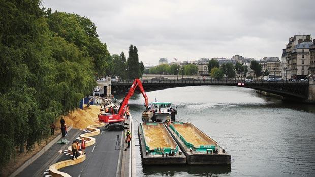 Urban Beaches Paris Plages