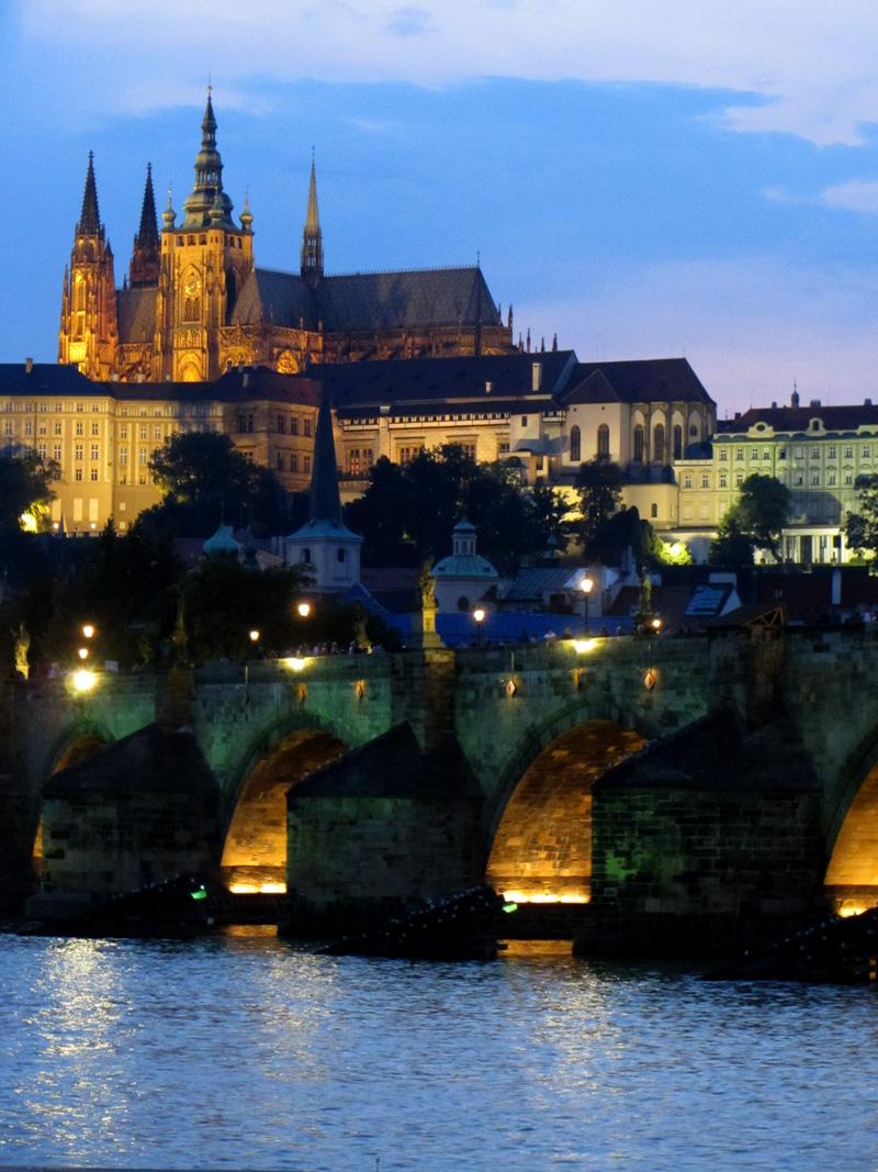 Praha Karlův Most Hradcany