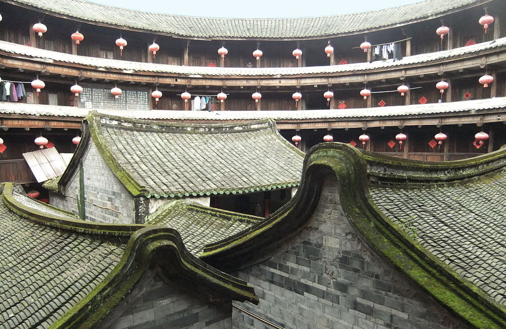 Tulou Concealed Ancient Chinese Fortress