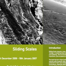 SlidingScale Workshop: The Bartlett School of Architecture and i-DAT