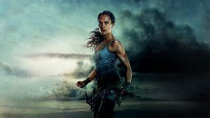 wallpapersden com alicia vikander tomb raider 2018 movie 1600x900