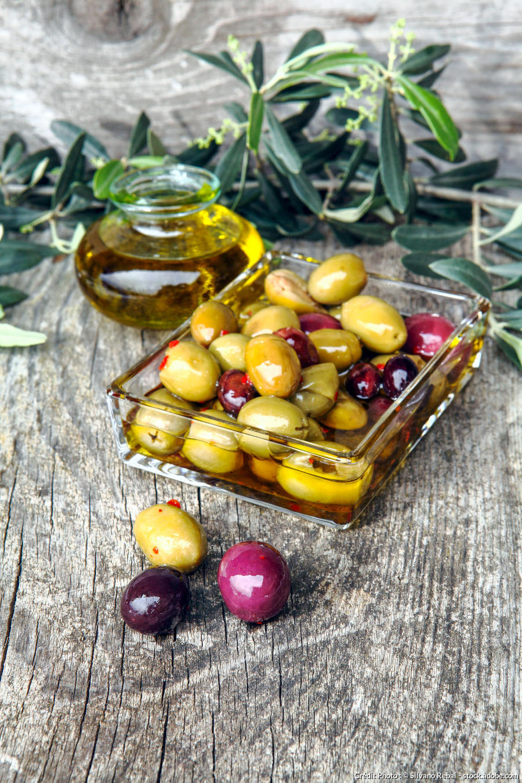 La préparation des olives de table