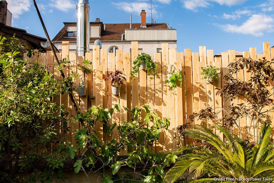 Fabriquer Un Brise Vue En Bois Diy En 10 Etapes Detente Jardin