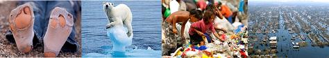 Hållbar utveckling - fötter_isbjörn_soptipp_översvämning 475