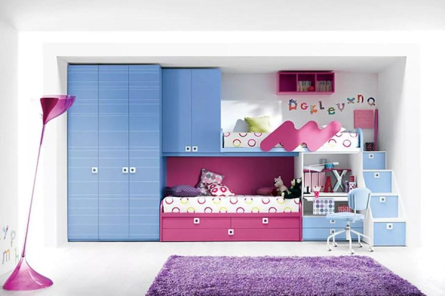 غرف نوم أطفال بتصاميم عملية للمساحات الصغيرة