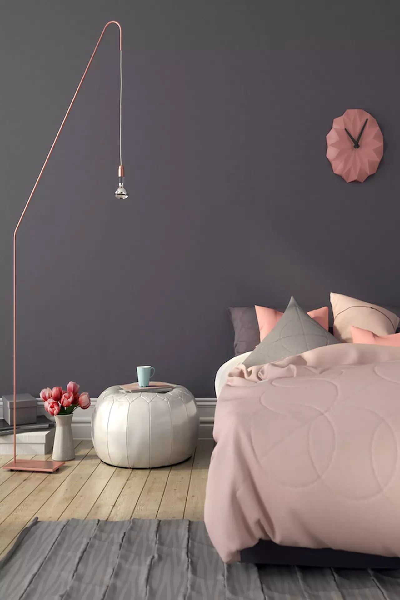 Colori pastello soluzioni per pareti non solo interne