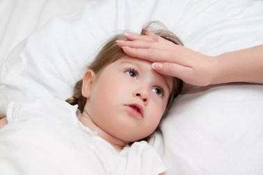 Image result for ارتفاع الحرارة عند الاطفال