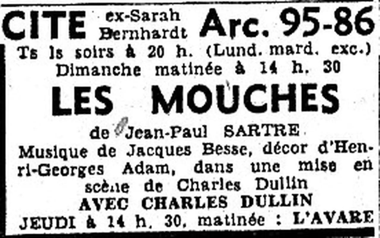 LES MOUCHES JEAN PAUL SARTRE DISSERTATION