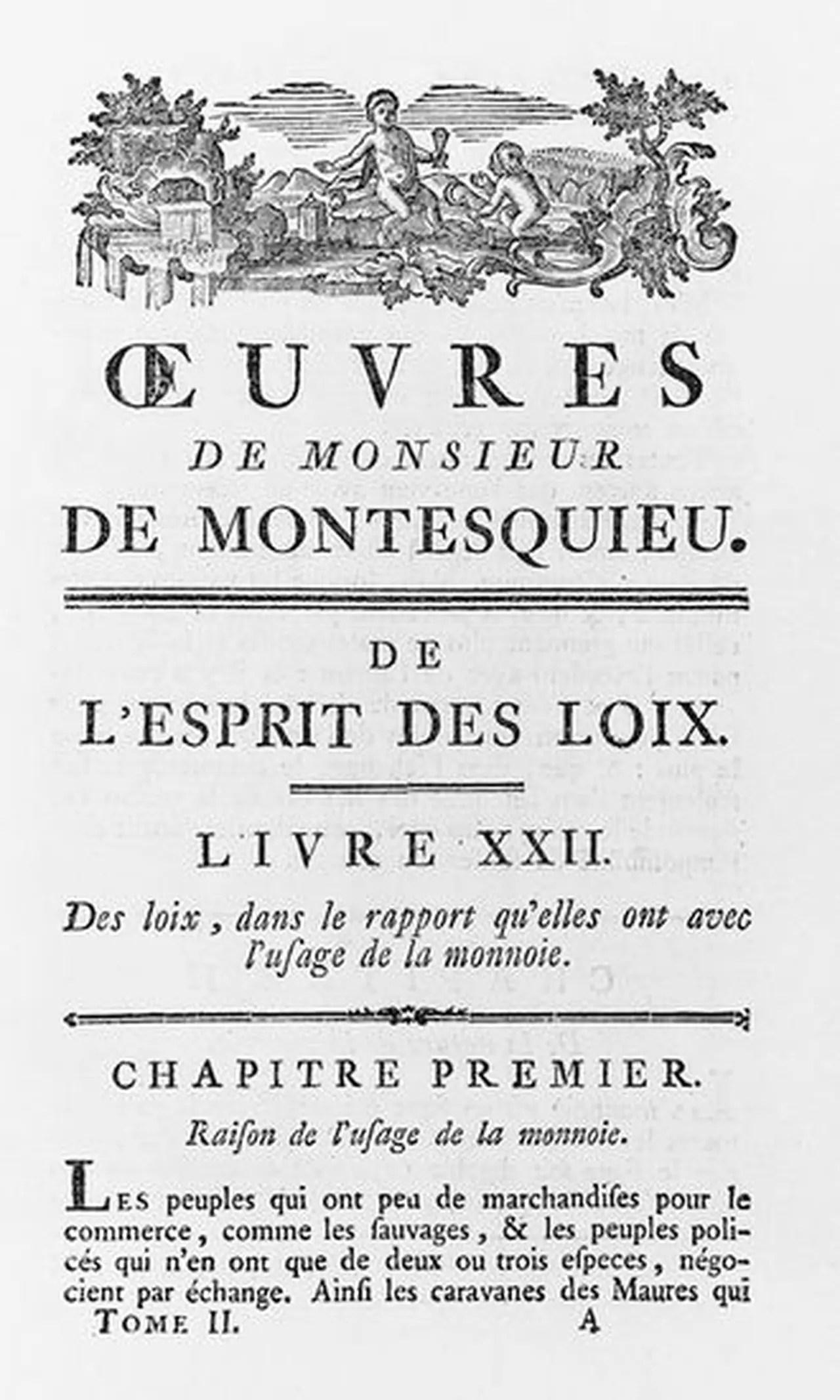 Montesquieu De L'esprit Des Lois Analyse : montesquieu, l'esprit, analyse, L'Esprit, Montesquieu, Résumé