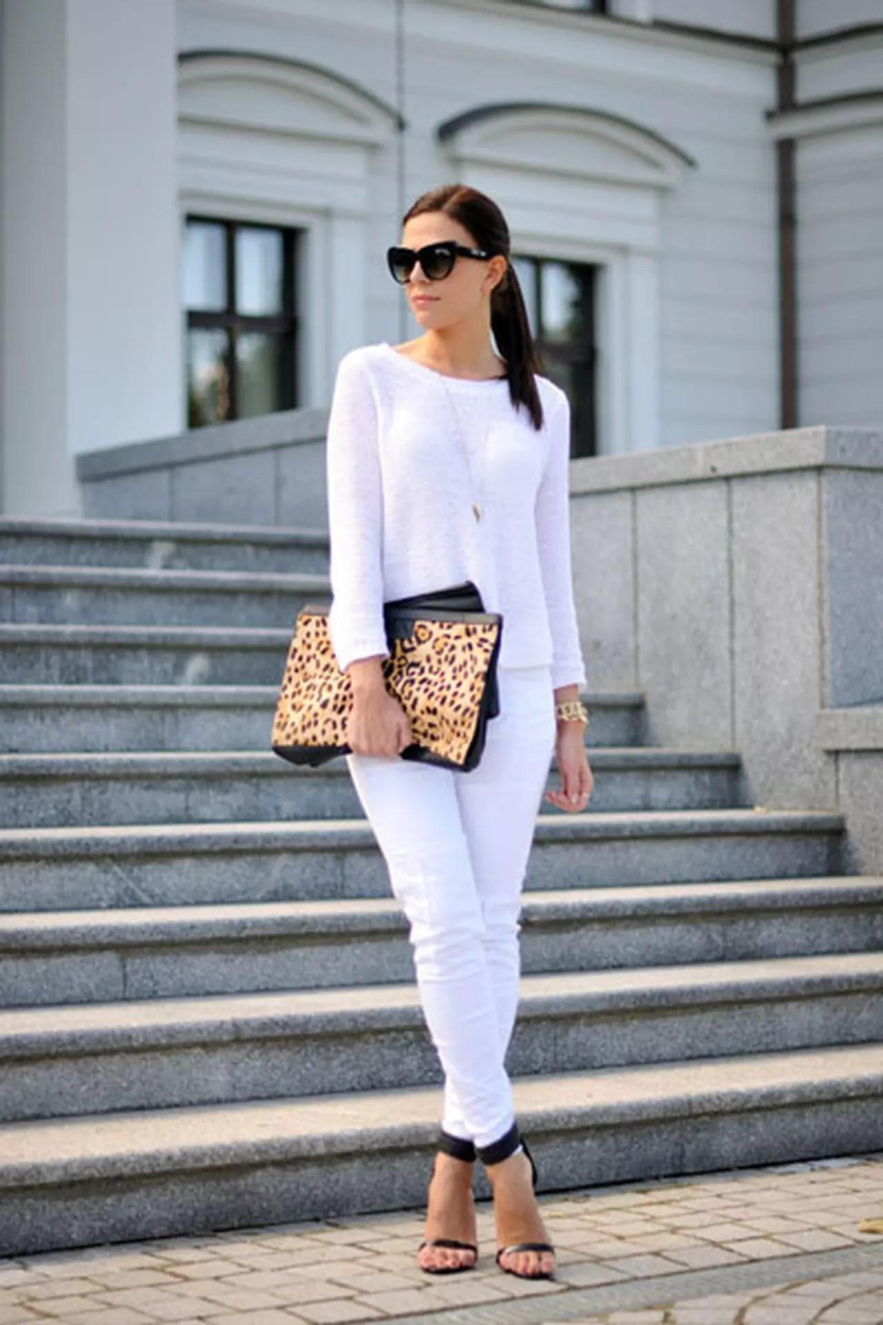 كيف ترتدين اللون الأبيض وتمنحيه حيوية بالألوان الأخرى