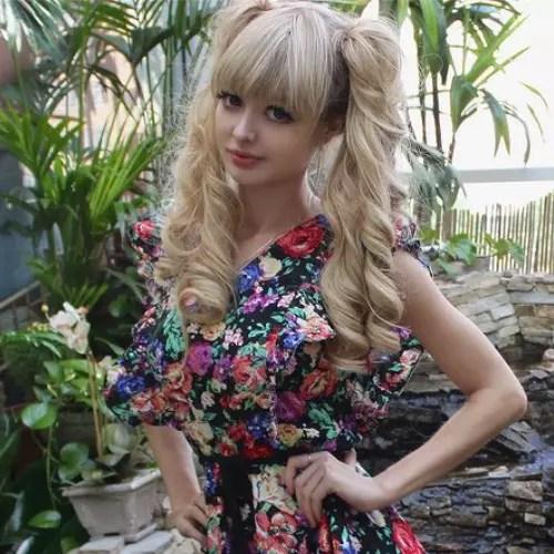 Angelica Kenova la Barbie in carne e ossa