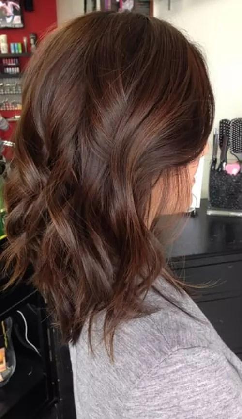 Brown Hair Colour Light Warm