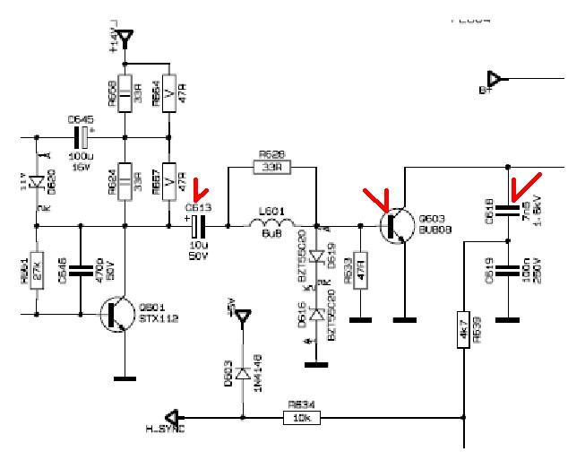 Электрическая схема телевизора рейнфорд: портал и журнал