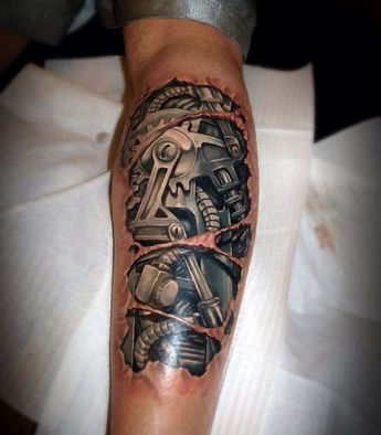 Biomechanical Tattoos Designs And Ideas Page 10