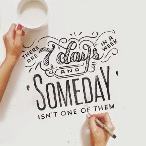 Let's make something happen today!