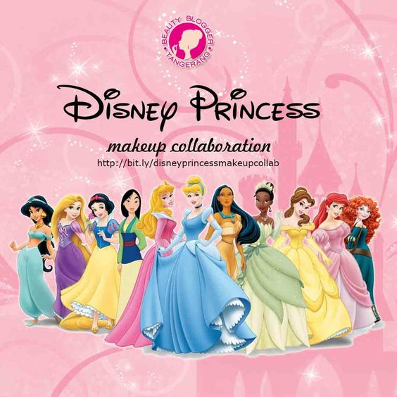 Disney Princess Makeup Collab with BBT