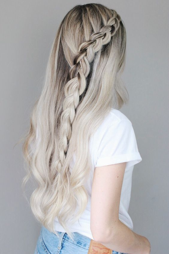 There was an overwhelming amount of requests to share some back to school hairstyles. I was unsure about creating a back to school hair tutorial...