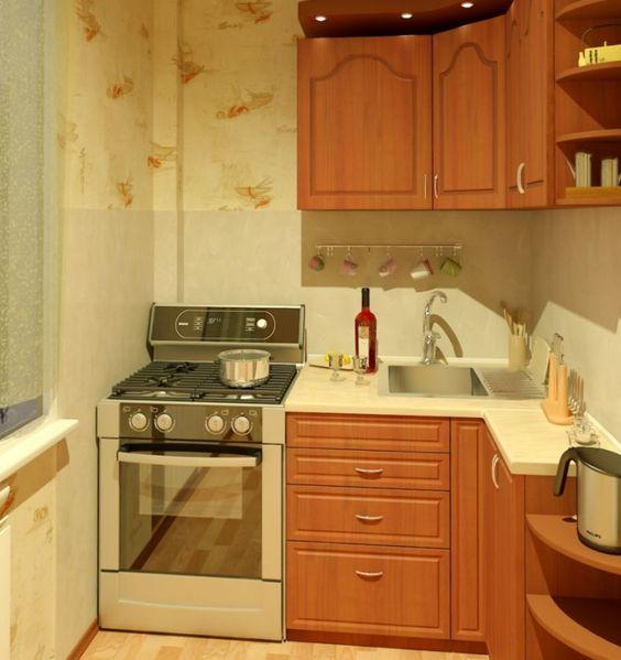 Маленькая кухня - Академия уюта