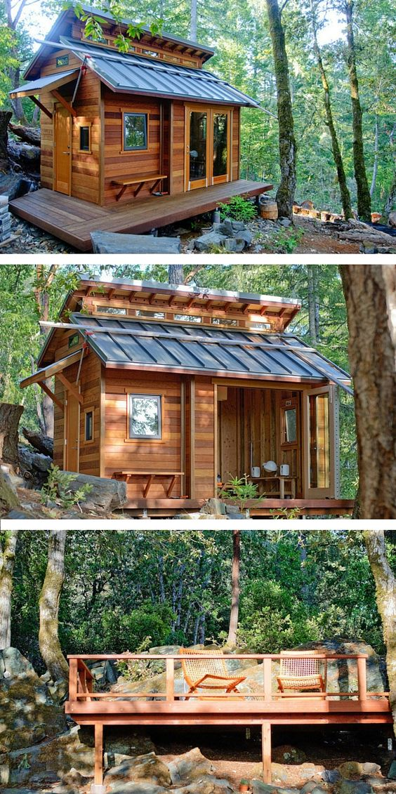 b39f960a919b65020e036833233126df - 21 Perfect Tiny Cabins For Living Outdoors