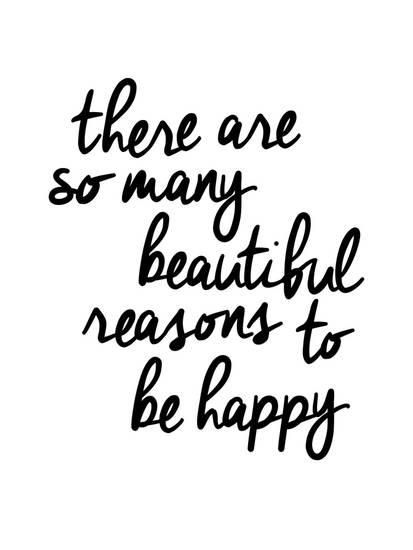 There Are So Many Beautiful Reasons To Be Happy Giclee Print by Brett Wilson at Art.com