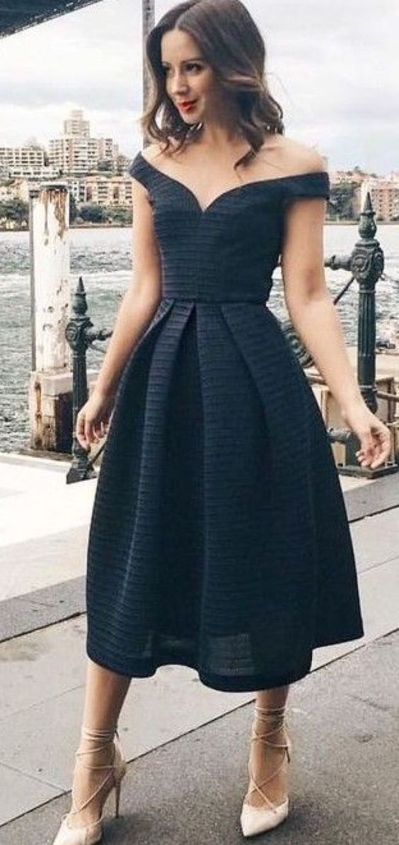 Off Shoulder Sweetheart Homecoming Dress,Short Party Dress