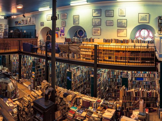 Wonderful UK Guardian article re: bookstores <3