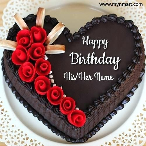 Create Birthday Cakes With Names Online Feat For Frame Awes