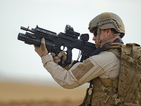 New 40 Mm Grenade Launcher Compatible With Any Assault