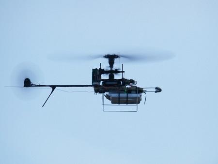 Night Vision Capability For Nano UAV