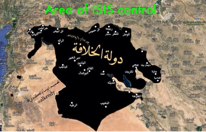 ISIS Main events in Syria and Iraq - February 5-11 2015