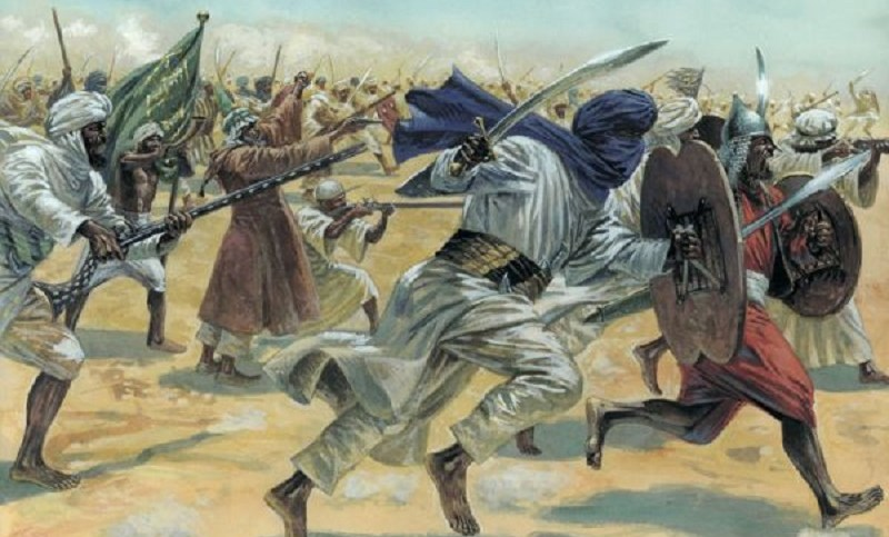 Image result for ancient muslim war