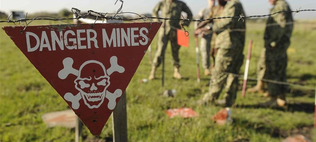 remote landmine detection